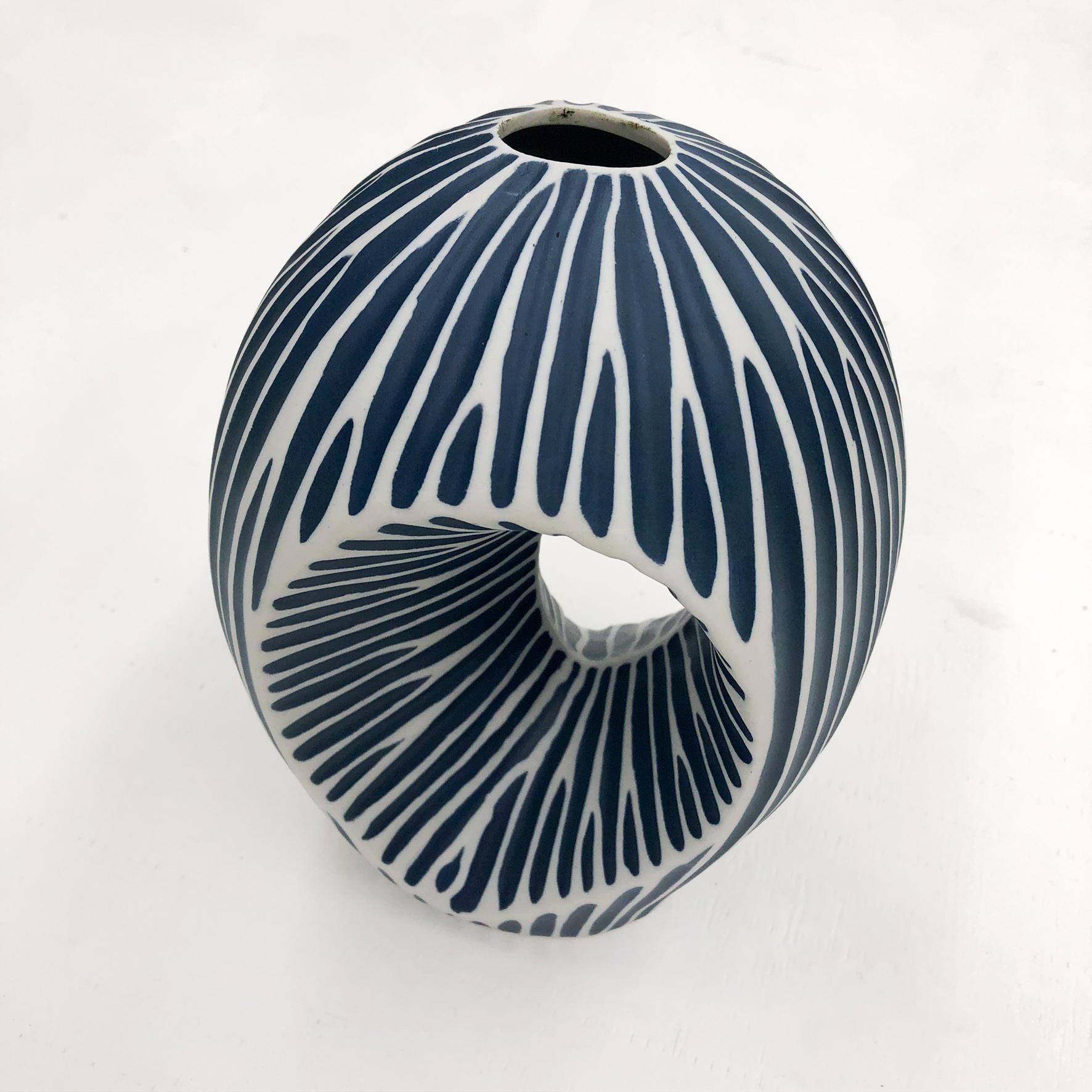 Artura MX Handmade Vase - top view