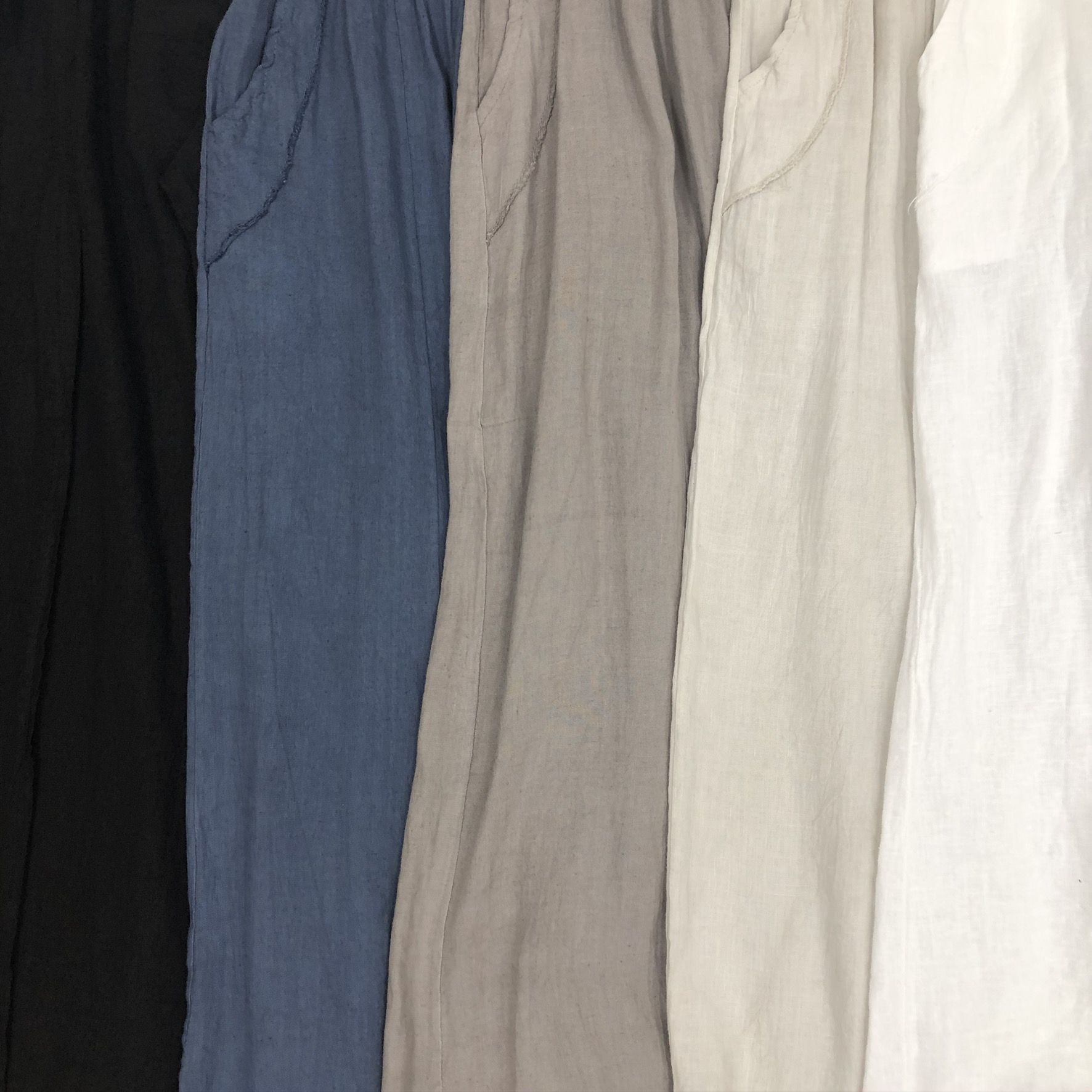 Pants with Pockets Color Swatches