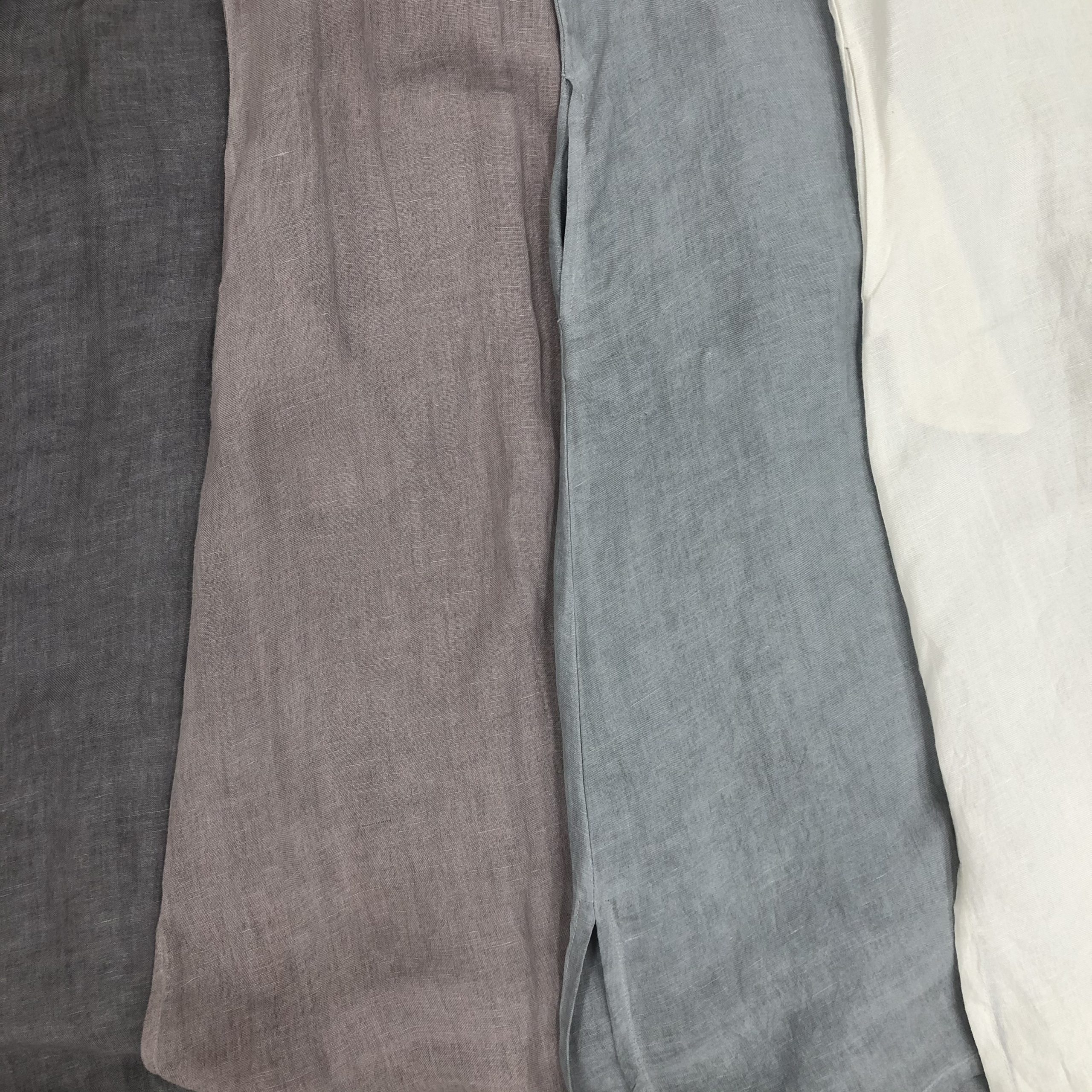 Linen Jacket Color Swatches