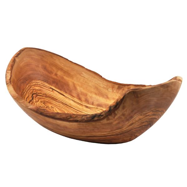 Natural Boat Shaped Bowl - Front