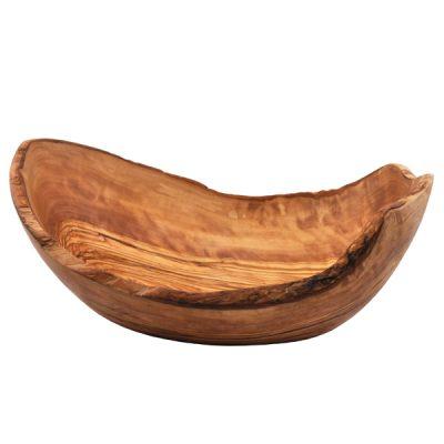 Natural Boat Shaped Bowl - Side