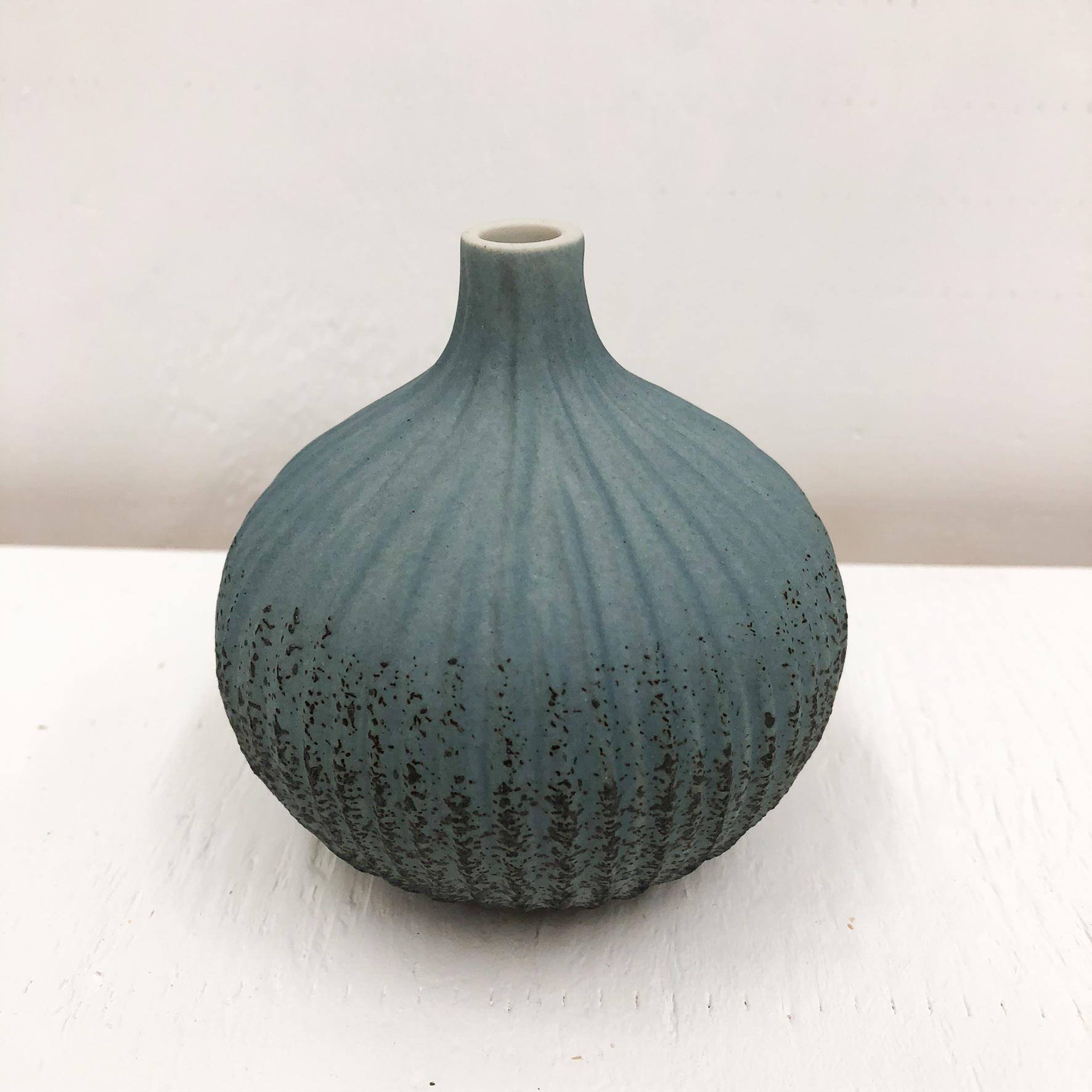 Congo Tiny L Handmade Vase - Blue
