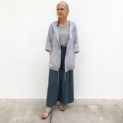 Linen Jacket w/ Hood