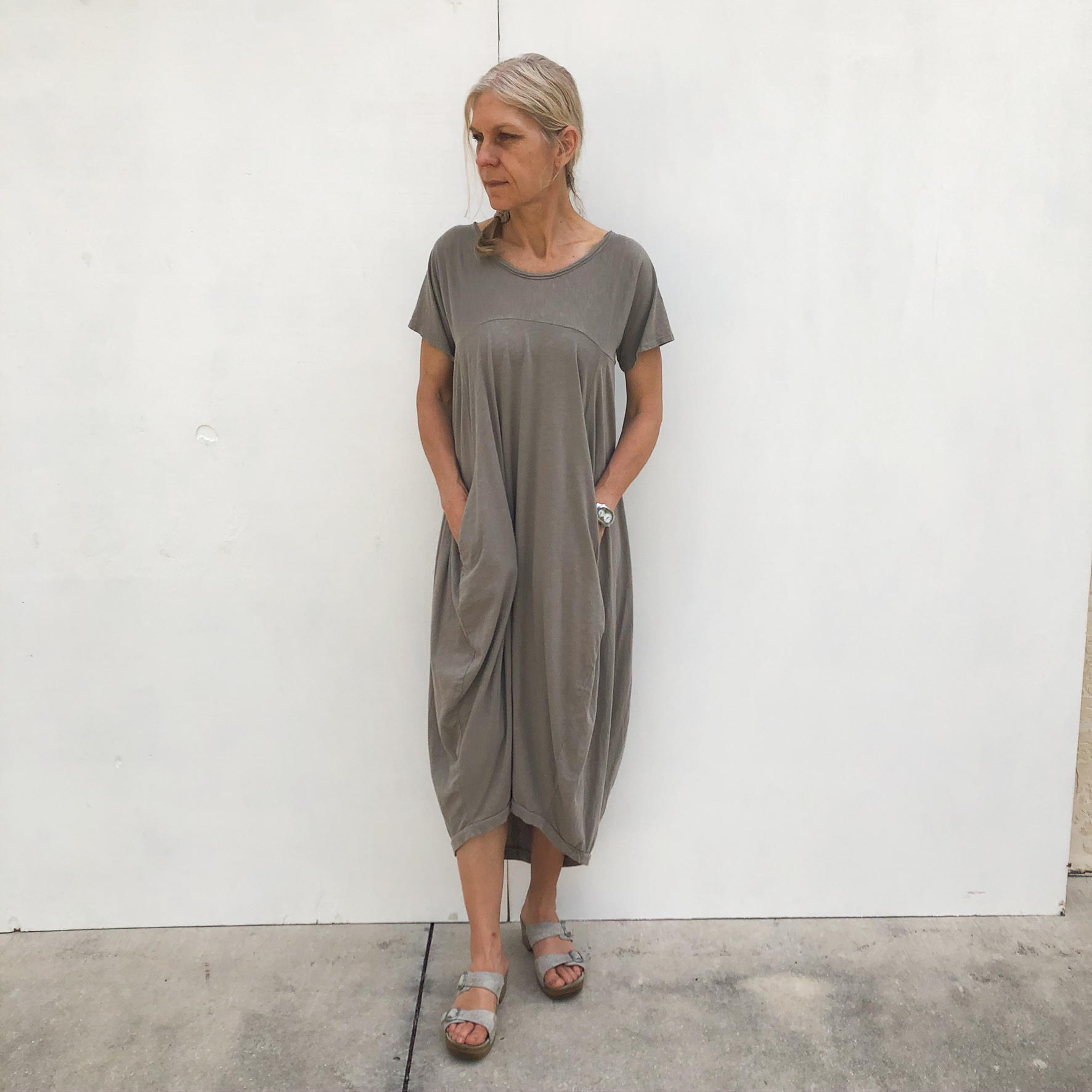 Long Two Pocket Dress