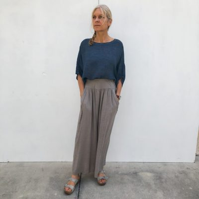 Linen Top and Pants with Pockets