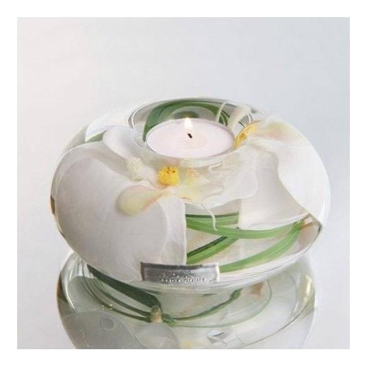 White Phalaenopsis MediumT-light