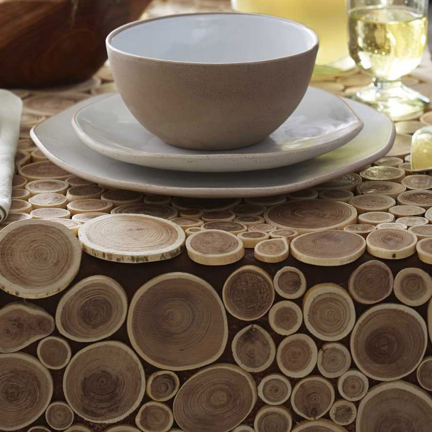 Branch Table runner close up